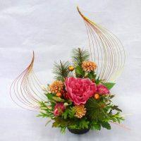 迎春の花飾り