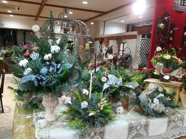 クリスマス コニファー アレンジメント