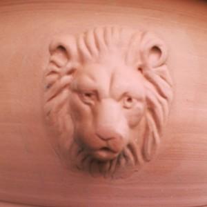 ウィローポッタリー ライオン